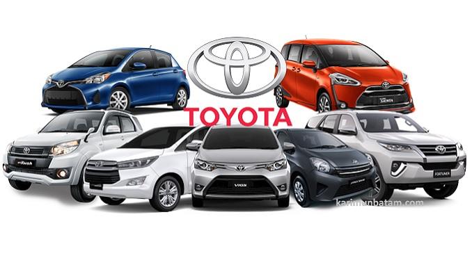 Daftar Harga Mobil Toyota di Kota Batam 2017
