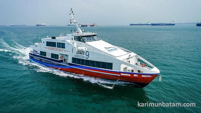 Jadwal Kapal Ferry Horizon dengan rute Harbour Bay Batam Harbourfront Singapura