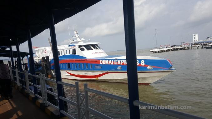 Jadwal Kapal Ferry Dumai Express rute Batam-Karimun