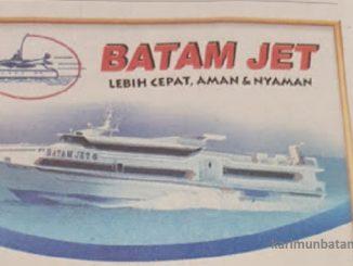 Jadwal Kapal Ferry Batam Jet (Batam, Tg. Balai Karimun, Selat Panjang, Bengkalis, Dumai)