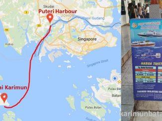 Jadwal Kapal Ferry Tanjung Balai Karimun Puteri Harbour Johor malaysia