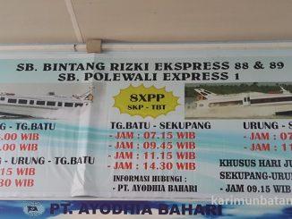 Jadwal Kapal Sekupang Batam-Tanjung Batu Kundur